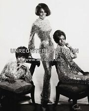 "Diana Ross and the Supremes 10"" x 8"" Photograph no 197"