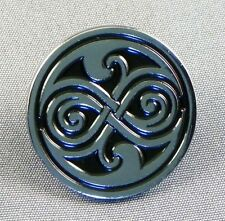 Metal Enamel Pin Badge Brooch Who Dr Doctor Dr Hoo Rassilon Roundal Logo