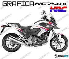 ADESIVI DECAL STICKERS HONDA NC750X NC 750 X RACING CARENA GRAFICA HRC