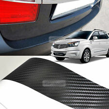Carbon Rear Bumper Protector Decal Sticker for SSANGYONG 2013 - 2016 Rodius