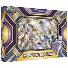 POKEMON XY MEWTWO EX COLLEZIONE BOX: BOOSTER Pack + Promo Cards
