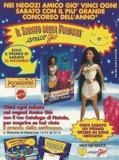 X7371 Pocahontas - Mattel - Amico giò - Pubblicità 1995 - Vintage advertising