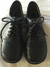 NEW Born Lace Up Oxfords Shoes, Dark Blue Leather, Women Size 6.5