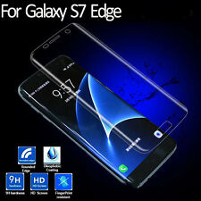 Samsung Galaxy S7 Edge Curved 9H Glass Tempered 3D Screen Protector Transparent