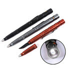 New Multi-Tool Portable Tactical Pen With Knife LED Light For Self Defense