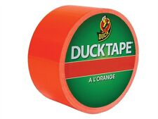 Coloured Duck Duct Gaffer Waterproof Tape ORANGE Repair Craft DIY Use