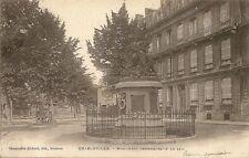 CARTE POSTALE CHARLEVILLE MONUMENT COMMEMORATIF DE 1870
