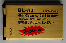 Batería para Nokia | phone battery for Nokia | bl-5j | 2450mah | nuevo New