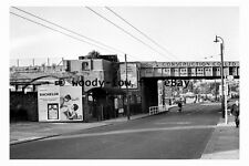 bb0591 - Site of Brentford GWR Railway Station in 1961 , London - photograph
