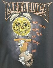 Authentic Vintage Metallica XL t shirt Pushead Tick Tock Life is Death is Pain