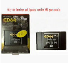 ED64plus Adapter Portable Video Game System Game& Save Device