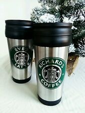 PERSONALISED STARBUCKS TRAVEL MUG/STARBUCKS COFFEE THERMAL MUG