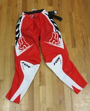 FOX RACING BRIGHT RED SPORT PERFORMANCE PANTS 180 SIZE W30 NEW W/ TAGS