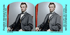 Abraham Lincoln Civil War SV Stereoview Stereocard 3D 4272389308