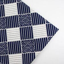 150x50cm Japanese patchwork linen cotton fabric table plain quilt DIY sew cloth