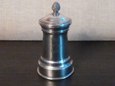 "CHRISTOFLE XIXth PEPPER MILL  "" CARLTON HOTEL ""  - brillant luster"