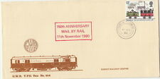 RAILWAY :1980 CREWE-GLASGOW SORTING S.C./1 on Didcot Railway Centre cover