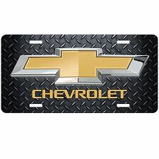 LICENSE PLATE Chevy Bowtie Car Truck Van Chevrolet Custom License Plate Car Tag