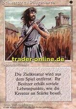 Espadas a rejillas (Swords to plowshares) Magic Limited Black bordered ge