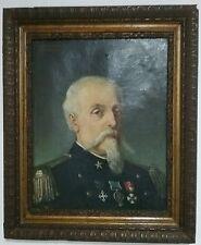 Risorgimento, olio su tela di Carcano del 1885 Tenente Colonnello Cav. Cattaneo