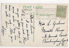 Miss Louie Graham Minster House St James Court Buckingham Gate 1908 300a