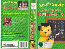 SOOTY HAVE FUN WITH NUMBERS  VHS VIDEO PAL~ A RARE FIND~