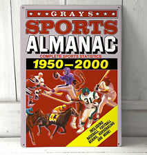 Back to the Future Sports Almanac metal plaque pubs and clubs kitchens