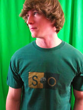 SOHO New York City Green 100% Cotton Size L T-Shirt