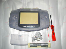 New Full Housing Shell for Nintendo Gameboy Advance GBA Repair Part-Clear Purple