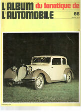 L'album du fanatique de l'automobile N°66 février 1974