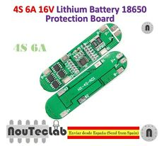 4S 6A 16V Li-ion Lithium 18650 BMS PCM Battery Protection Board for li-ion lipo