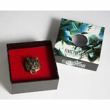 Final Fantasy VII 7 FF Cloud Wolf Ring Alloy Metal Bronze Ring + Gift Box NEW