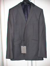 John Lewis 40L mens 100% WOOL Mini-Herringbone Charcoal Jacket RRP £140