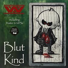 WUMPSCUT Blutkind 2LP GREEN VINYL LTD.300