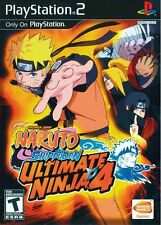 Ultimate Ninja 4: Naruto Shippuden - Playstation 2 Game Complete