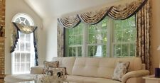High Quality Luxury Handmade Swag Curtains - Made to Measure
