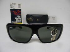 New Vintage B&L Ray Ban Blair Ebony Black L4020 Wayfarer Rectangular USA NOS