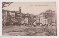 """CPA """" CANNES - Place de L'Hôtel de Ville"""