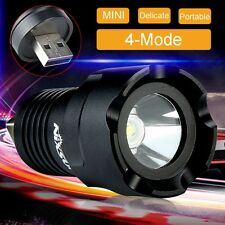 Super Power 2000 Lumen CREE R5 LED USB Light 4 Modes Flashlight Torch 5V