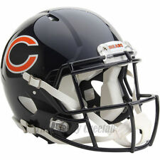 CHICAGO BEARS RIDDELL NFL FULL SIZE AUTHENTIC SPEED FOOTBALL HELMET