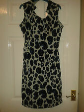Womens Dress - Kim Kardashian Kollection - Blue Leopard Print - 12 - BNWT £42.00