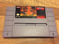 Super Nes USA:       FINAL FIGHT