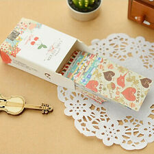 Hot 52pcs/box DIY Cute Sticker Retro Sticky Paper for Scrapbooking Decoration SK