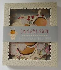 Tilda Sweetheart Paper Candy Box Labels & Cut Out Shapes
