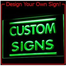 Personalized custom name Design Your Own LED light sign