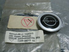 MK1 MK2 CAPRI RS GT GENUINE FORD NOS STEERING WHEEL HUB EMBLEM