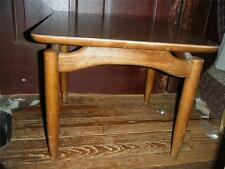 Vintage~Retro Wood Lane Altavista Mid-Century Danish Modern Sculpted Side Table