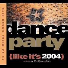 Dance Party (Like It's 2004) by The Happy Boys (CD, Nov-2003, Robbins...