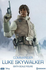 STAR WARS~COMMANDER LUKE SKYWALKER-PLANET HOTH~SIXTH SCALE FIGURE~SIDESHOW~MIB