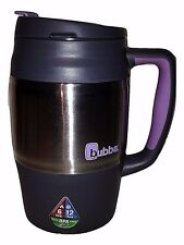 Bubba 34oz Mug Keg 1L Grey Purple with Lid Insulated Hot Cold BPA Free